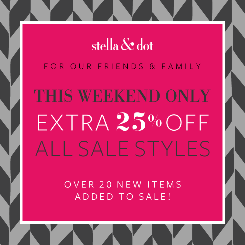 Black Friday Sale with Stella & Dot